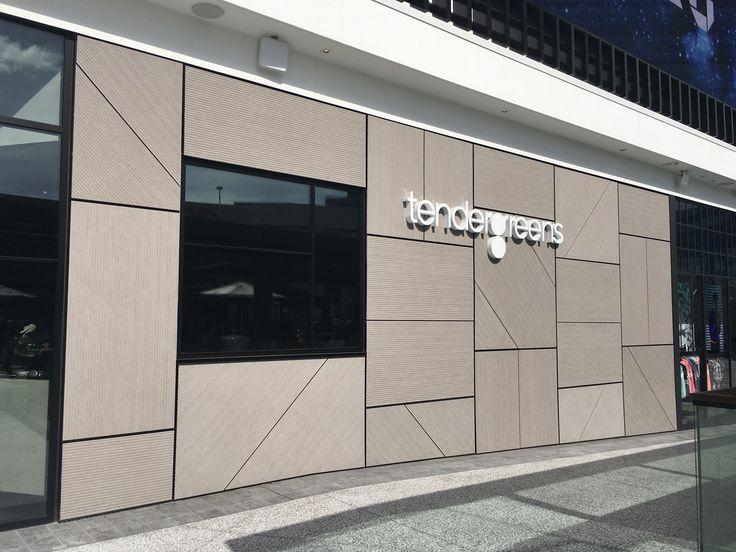CA - Tender Greens Century City. EQUITONE [linea] LT60 facade panels. adress: 10250 California State Route 2 #2990, Los Angeles, CA 90067