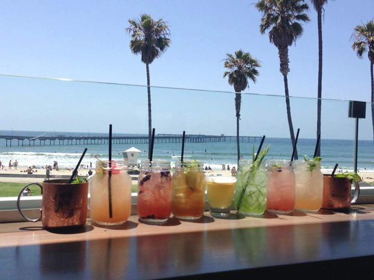 Drinking is a great time. The ocean is a great time. Drinking the ocean? Not such a great time. But drinking NEAR the ocean is quite possibly the absolute best of all the times, which is why we've helpfully assembled this lineup of San Diego's best spots to enjoy a few rounds within stumbling distance of a sun-soaked beach.