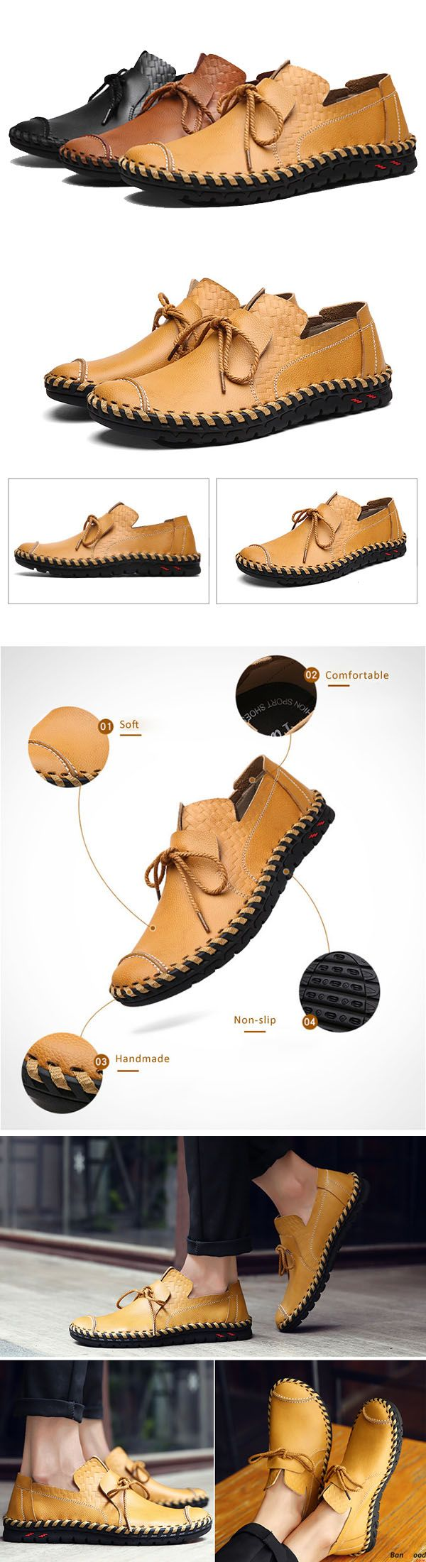 US$49.99+ Free Shipping. 3 colors available.  Men loafers, casual comfortable shoes,  oxford shoes, boots, Fashion and chic, casual shoes, men's flats, oxford boots,leather short boots,loafers, casual oxford shoes,slip on  men's style, chic style, fashion style.  Shop at banggood with super affordable price. #men'sshoes#men'sstyle#chic#style#fashion#style#wintershoes#casual#shoes#casualshoes#boots#oxfordshoes#loafers#slipon#flats