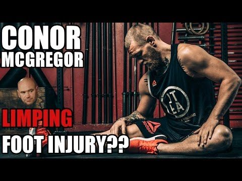 White Confirms Conor McGregor Still Injured — New Limping Video Released — Will Still Fight Alvarez