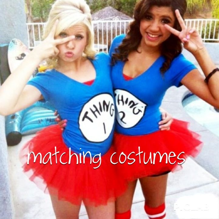 Thing 1 u0026 Thing 2 Halloween Costume me and my best friend need to do this  sc 1 st  Pinterest & The 25 best images about School! on Pinterest | Notebooks Cereal ...