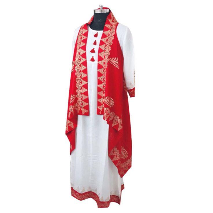 White n Red Designer Kurti With Shurg #womensfashion #designerkurti #kurtiwithshrug #fashion #style #ethnicwear #winterwear #shrugwithkurti