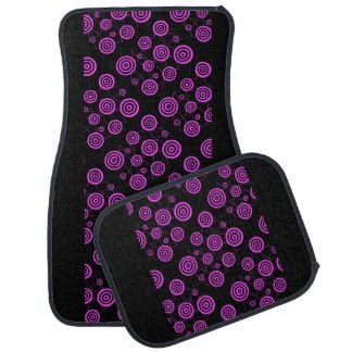 Pink Platterns Car Mats Full Set (set of 4) Floor Mat,http://www.zazzle.com/costasonlineshop*