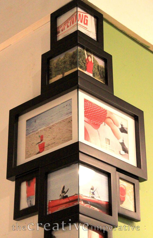 25 beste idee n over kunst ophangen op pinterest kunstwerk ophangen afbeeldingen ophangen en - Een hoek thuis ...