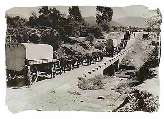 1938 Grote Trek met ossenwagens