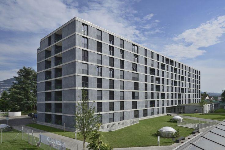 Student housing in geneva frei rezakhanlou architects for K architecture geneve