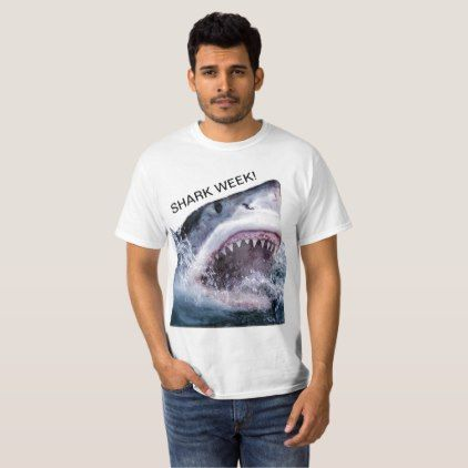 Shark week T-Shirt - ocean side nature waves freedom design