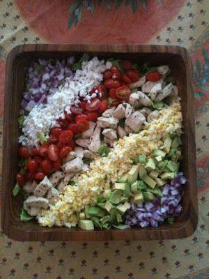Cobb Salad   Salads   Pinterest