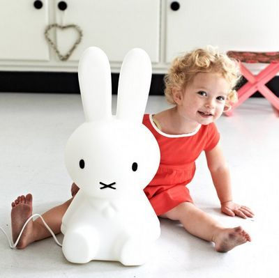 Dutch company Mr Maria have created this beautiful LED light designed to look like the little rabbit, Miffy. Sweet and serene, the Miffy lamp works as a night light for children and adults alike. This charming lamp creates a soft and warm atmosphere and comes with a dimmer that can brighten or soften the light as need be.