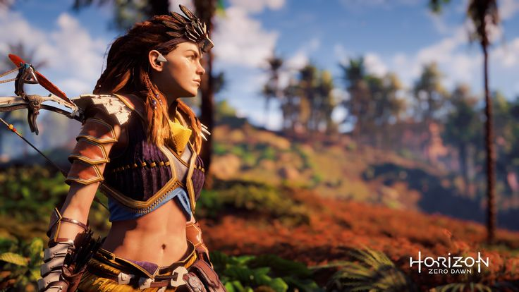 Aloy Horizon Zero Dawn 4K - This HD Aloy Horizon Zero Dawn 4K wallpaper is based on Horizon: Zero Dawn Game. It released on N/A and starring Ashly Burch, Laura van Tol, Ava Potter, JB Blanc. The storyline of this Action, Adventure, Sci-Fi Game is about: Centuries after the fall of civilization and the rise of predatory... - http://muviwallpapers.com/aloy-horizon-zero-dawn-4k.html #4K, #Aloy, #Dawn, #Horizon #Games