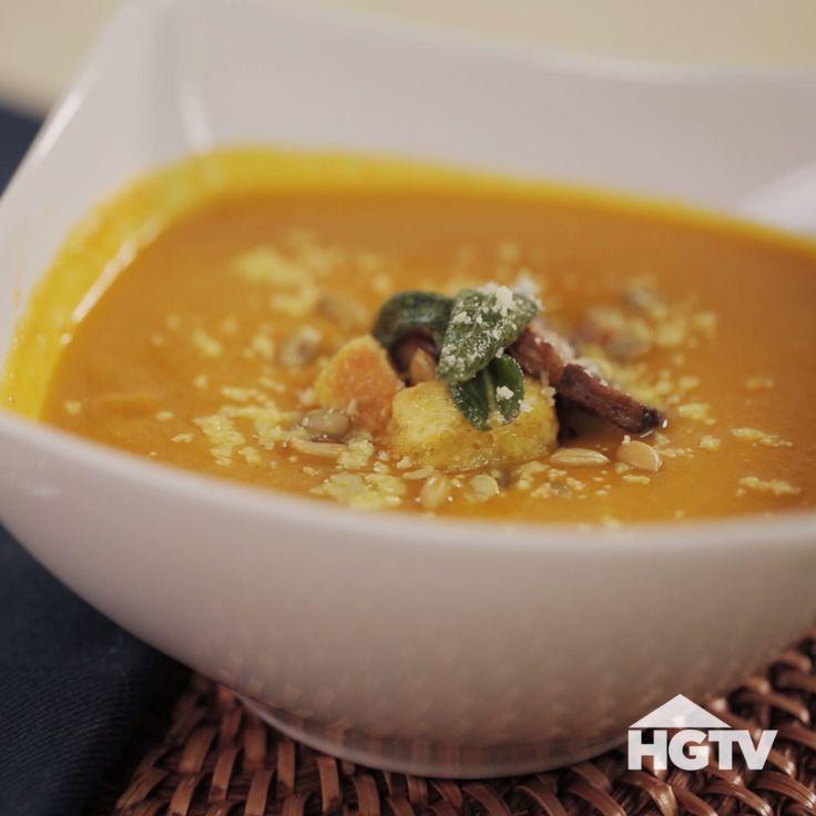 Creamy Pumpkin Soup Recipe                                                                                                                                                                                 More