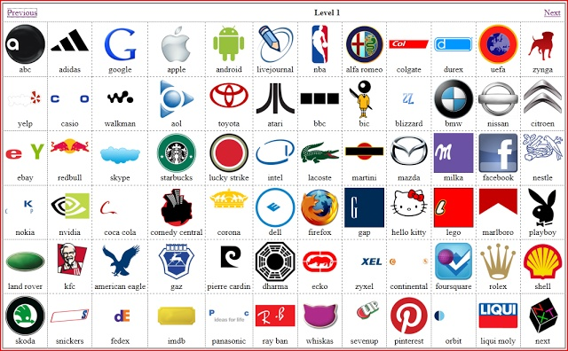 Logo Quiz Answers Level 115 for iPhone iPad and Android