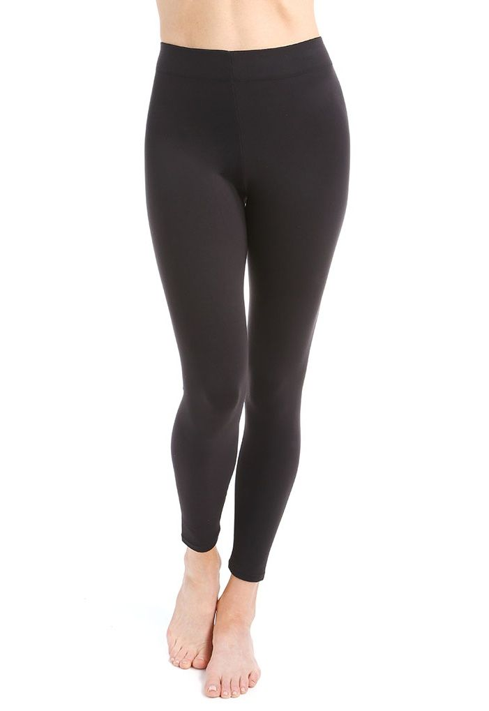 7270cb2c6d Flexees Women s Maidenform Fat Free Dressing Legging Black Large L Black  Maidenform