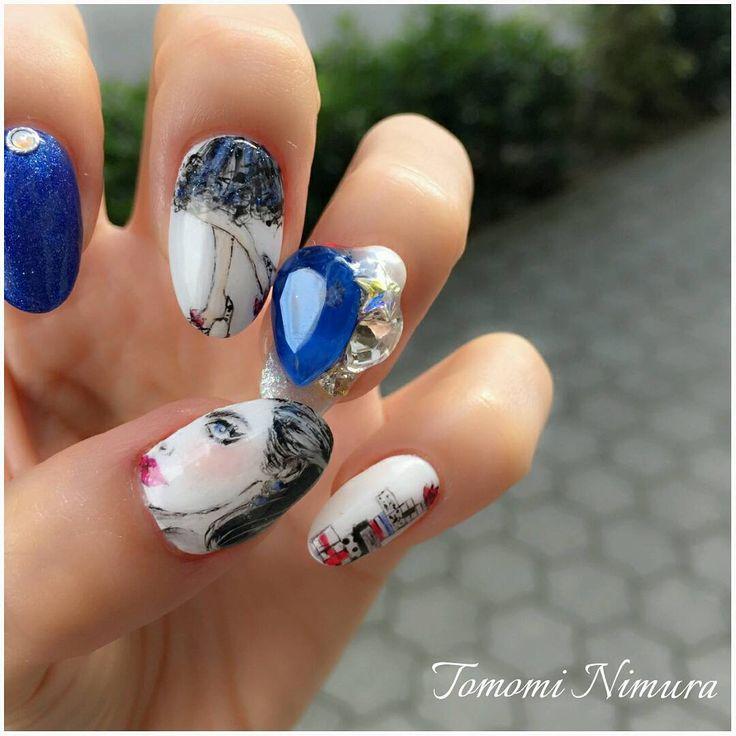 いいね!189件、コメント9件 ― 二村 友美 Tomomi Nimuraさん(@tomomi_nimura)のInstagramアカウント: 「「Lady nail」 ・  久しぶりに自分の爪に♪ ・  プティールカラー@putielnail 使用。 ・…」