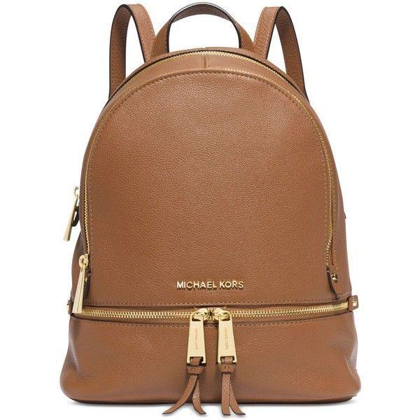 Michael Michael Kors Rhea Zip Small Backpack ($298) ❤ liked on ...
