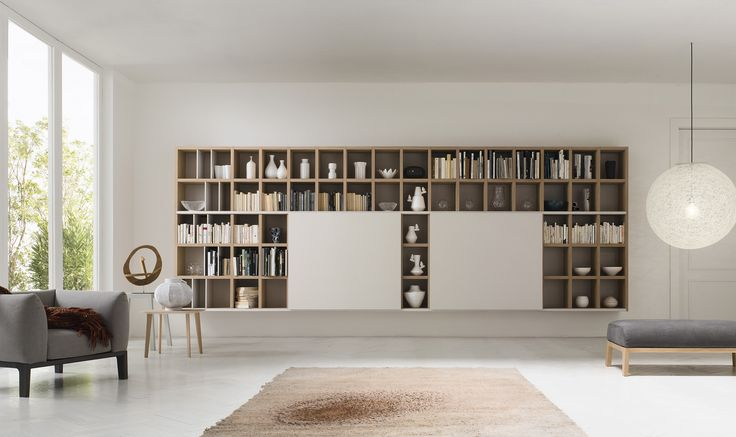 Un bianco basico per la tua libreria #MySpace e l'eleganza del living è servita!http://www.alfdafre.it/it/prodotto/13.aspx
