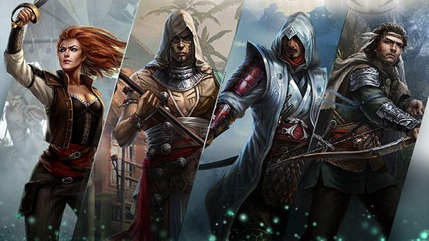 The Newest Assassin's Creed Will Be a Card-Battling and Time-Traveling Game - http://videogamedemons.com/news/the-newest-assassins-creed-will-be-a-card-battling-and-time-traveling-game/