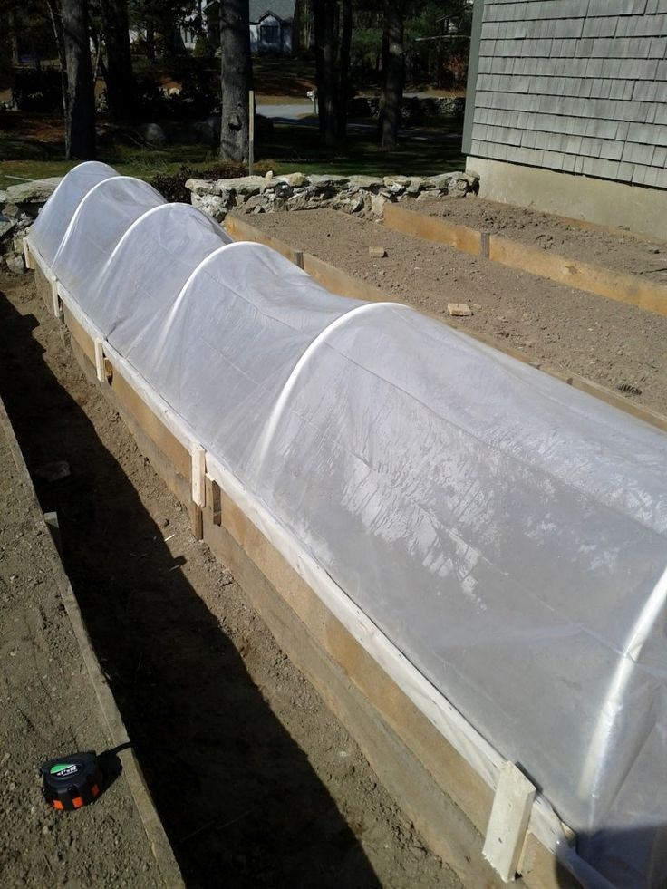 19 best images about mini greenhouses on pinterest pvc for Cheap garden beds