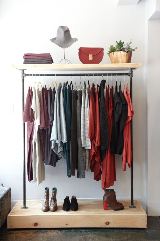 Good 21 Really Inspiring Makeshift Closet Designs For Small Spaces