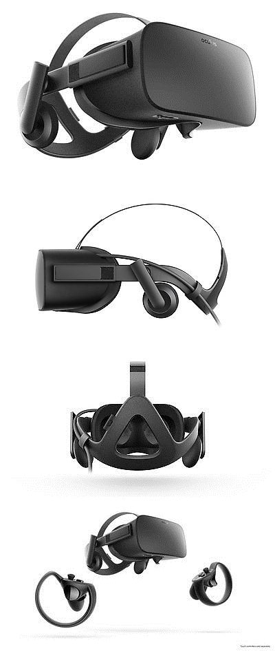 PC and Console VR Headsets: Oculus Rift - Virtual Reality Headset BUY IT NOW ONLY: $731.7