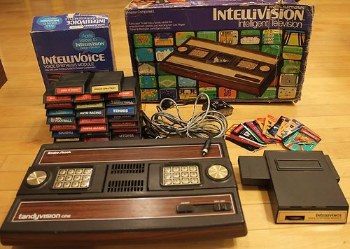 Tandyvision One Console 26 Intellivision Games