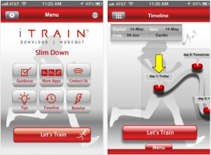 Free Fitness App for Women - 6 Week Slim Down Program from iTRAIN (This is my new favorite app - AWESOME!!)