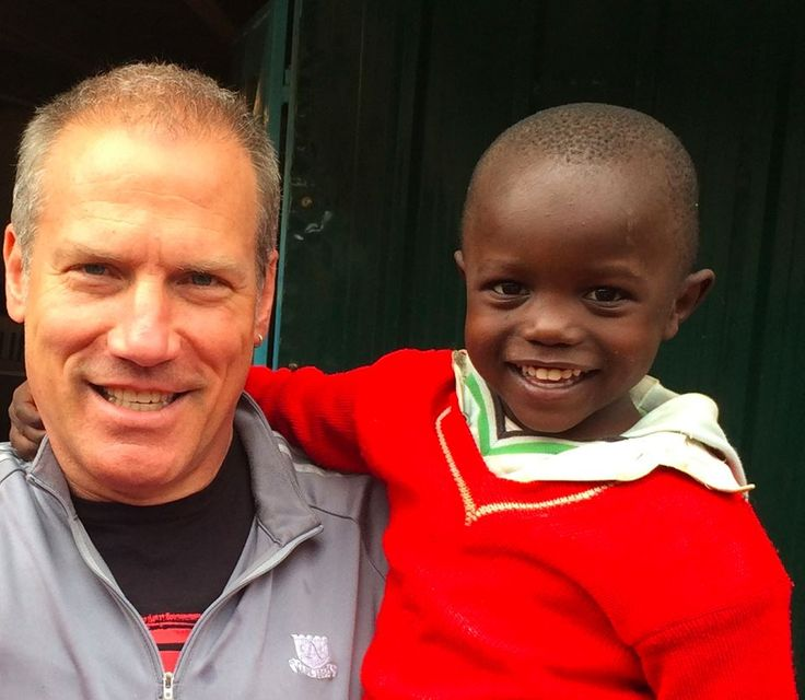 """""""The question will come up every season of your life: What can I do right here, right now, because I love humanity?"""" Carter Via ('83) has answered that question by bringing hope to children in Kenya."""
