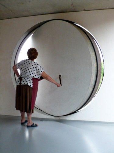 Puerta redonda