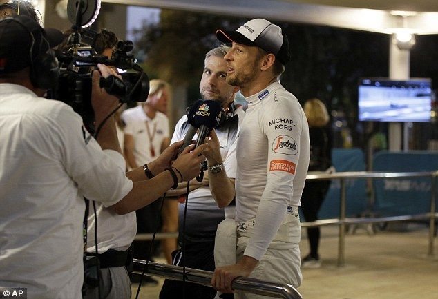 Button thanked his fans for their support throughout his career in his post race interview...