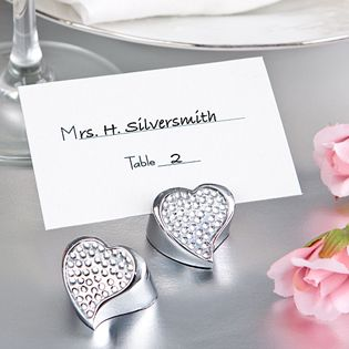 wedding favors u0026 party supplies favors and flowers wedding favor themes heart theme wedding favors silver heart place card holder