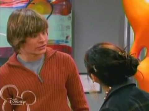 Haha watch this. I remember this episode of suite life of zac and cody it easy favorite