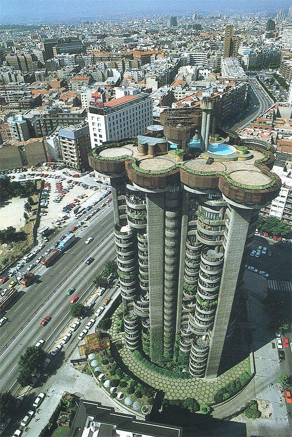 Torres Blancas. Madrid