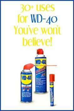 Frugal Ways To Use WD-40