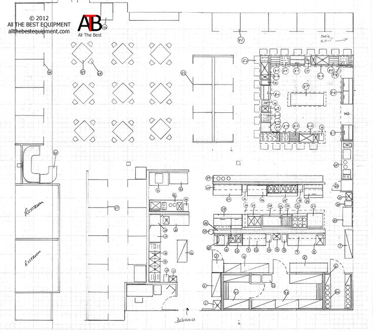 Restaurant Kitchen Layout Autocad 26 best interior-floor plan images on pinterest | floor plans