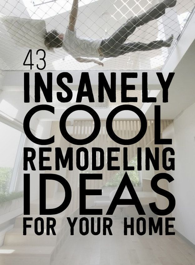 43 Insanely Cool Remodeling Ideas For Your Home - http://www.homedecoz.com/home-decor/43-insanely-cool-remodeling-ideas-for-your-home/