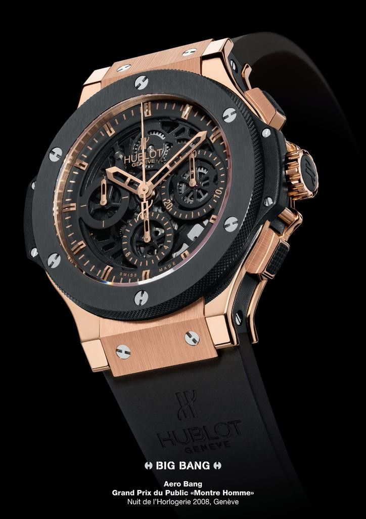 HUBLOT AERO BANG, Hublot Timepieces and Luxury Watches on Presentwatch