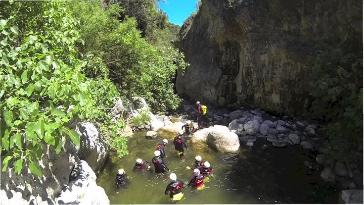 Canyoning, Benahavis, Marbella, Puerto Banus - Great for Stag & Hen Weekends Our Canyoning in Benahavis near Marbella, is an exhilarating activity which involves navigating down a water course by a combination of walking, climbing, swimming, abseiling, jumping and generally scrambling down the river and its banks.