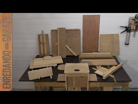 Enredando no garaxe cómo enseñaros las 10 mejores guías de carpintería que hice en mi canal de carpintería. No son imprescindibles, pero dependiendo de las m...