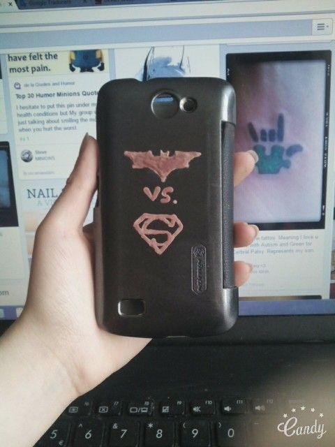 Batman vs. Superman_ Phone case