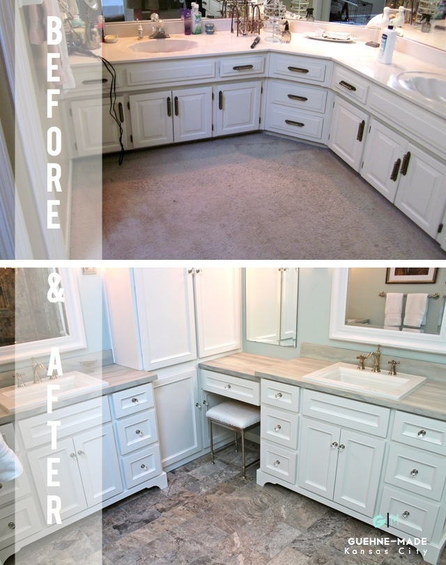 Guehne made kansas city home remodeling home styling for Bathroom remodel kansas city
