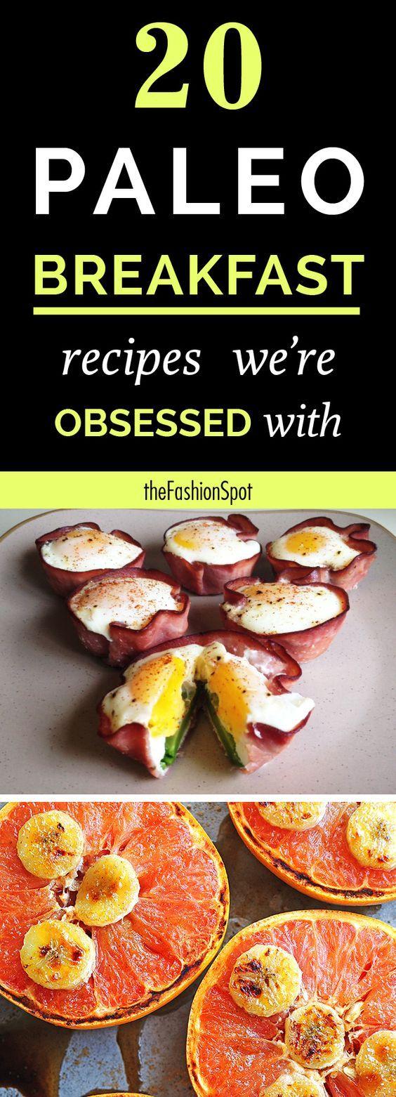 The best paleo breakfast recipes: