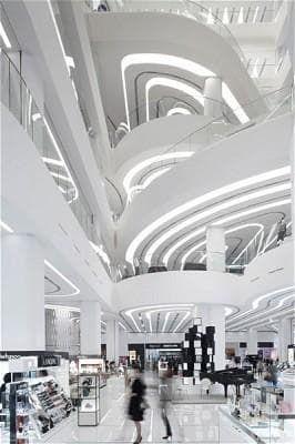 UNStudio, Galleria Centercity, Cheonan, South Korea
