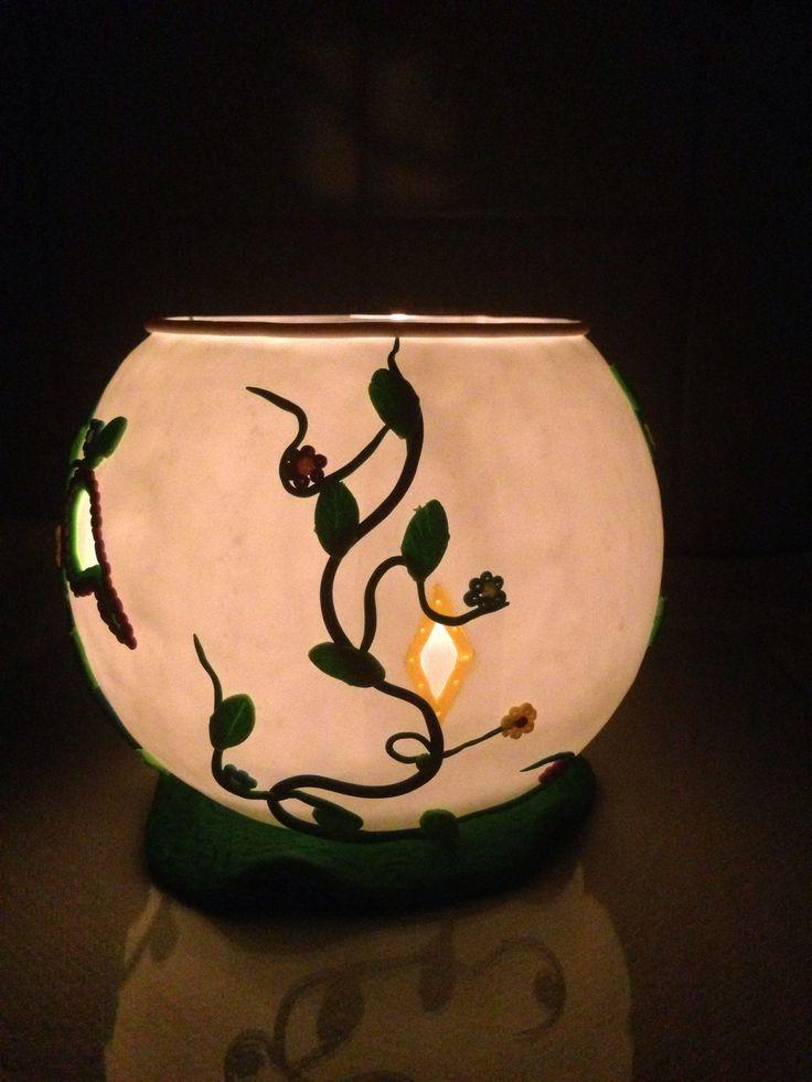Lanterne nachleuchtend mit Kerze Seite 2