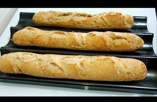 Todo sin gluten: BAGUETTES 2 sin gluten Hoy quería hacer pan y he ...
