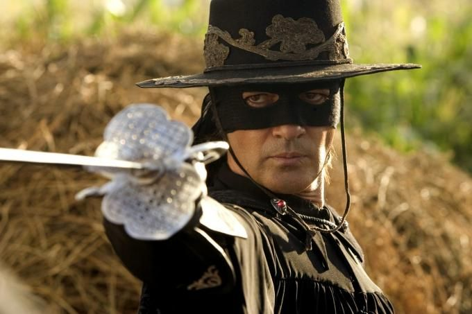 """Zorro.   """" Embody all presences outlaw'd or suffering """""""