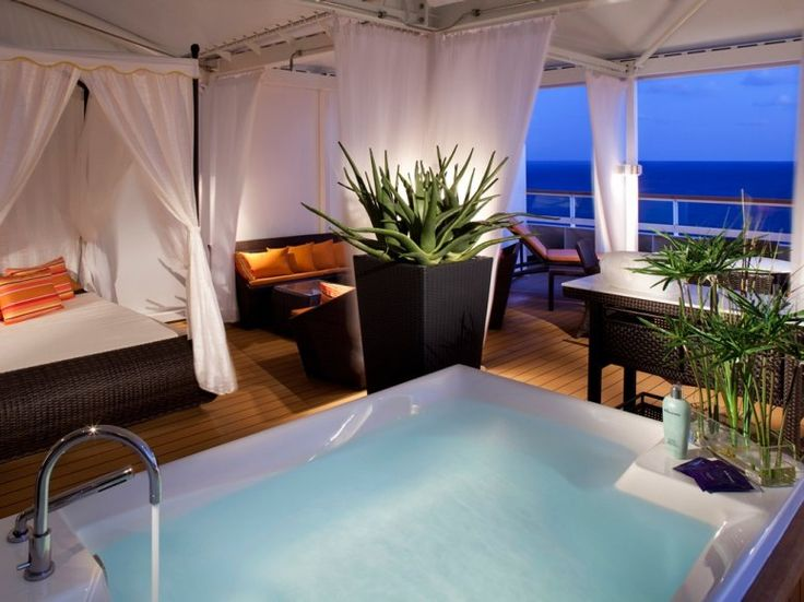 Cruise with the best....Seabourn Odyssey: Beach House, Spa Treatments, Treatments Room, Dreams Come True, Spas, Crui Ships, Hot Tubs, Seabourn Crui, Vacations Travel