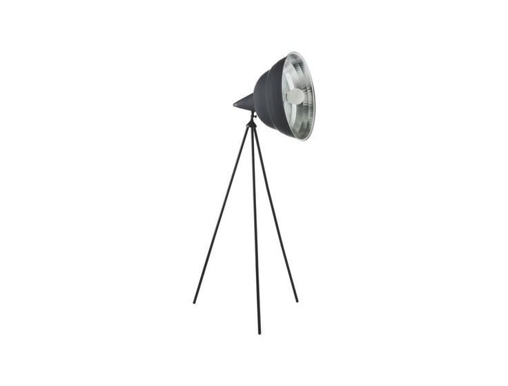 Photographic stor gulvlampe i sort. Fåes også i gull. Kr. 2025,-