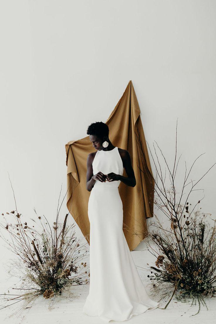 Organic, Minimal Wedding Inspiration for the Modern Bride