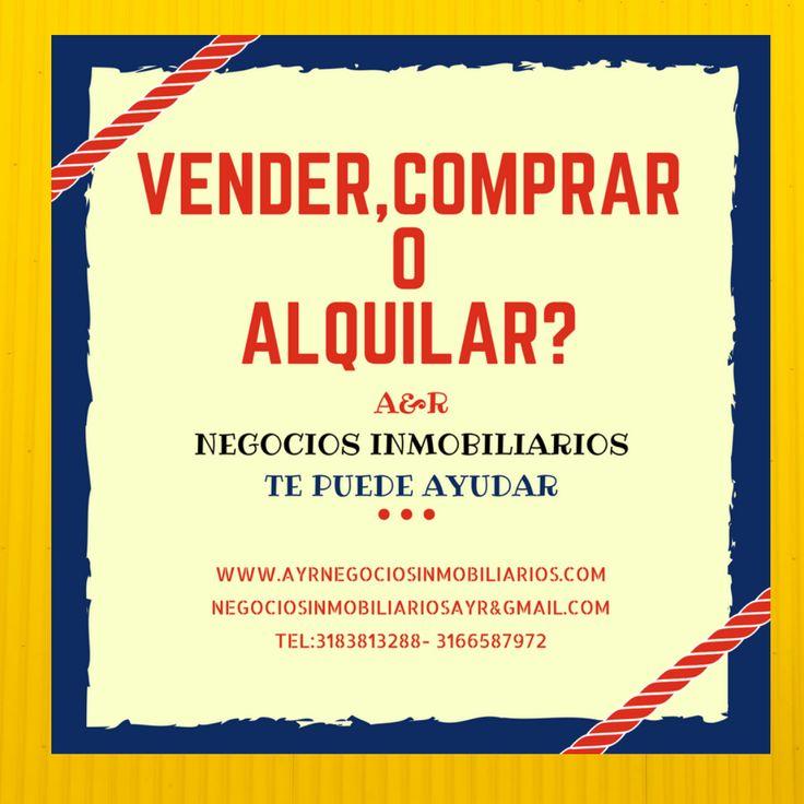 Visítanos www.ayrnegociosinmobiliariis.com