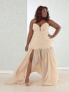 sexy wedding gown, plus size wedding dresses